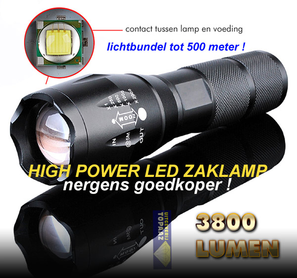 HIGH POWER LED ZAKLAMP !